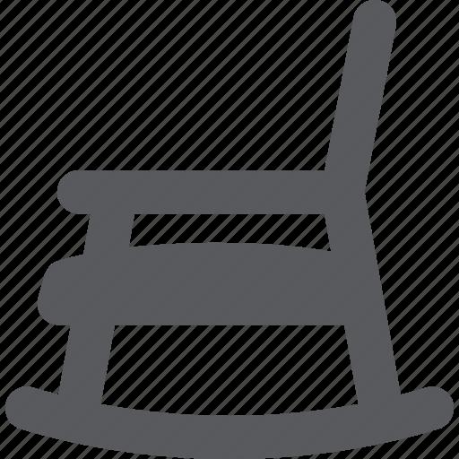 armchair, pension, retirement icon