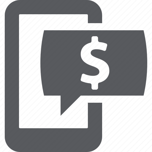 internet banking, mobile banking, sms banking icon