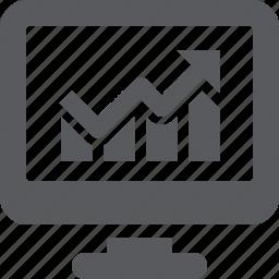 chart, graph, web analytics icon