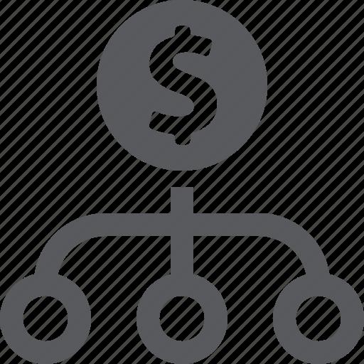 business plan, financial plan, strategy icon