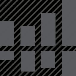 business graph, chart, statistics icon