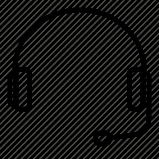 audio, headphone, headset, support icon