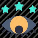 development, eye, look, star, view, views