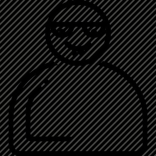 crazy, emoji, emoticon, nerd, personalize icon