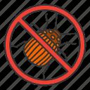 beetle, bug, colorado, insect, pest, potato, stop icon