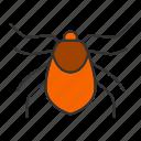acari, bloodsucker, bug, insect, mite, parasite, pest icon