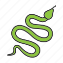animal, asp, control, dangerous, poisonous, serpent, snake icon