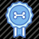 award, badge, medal, pet icon