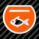 animal, animals, breed, domestic, fish jar, mammal, pet icon