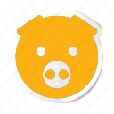animal, animals, breed, domestic, mammal, pet, pigg icon