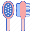 animal, brush, pet icon
