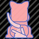 expression, gland, pet icon