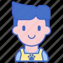 groomer, male, man, pet icon
