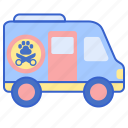 dog, grooming, mobile, pet icon