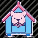 animal, dog, kennel, pet icon