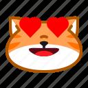 cat, cute, emoticon, happy, love icon