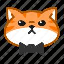 cat, cute, emoticon, male icon