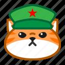 cat, communism, cute, emoticon icon