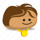 bling, gold, necklace, pet-rock, rock icon