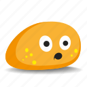 big-eyes, pet-rock, rock, surprised icon