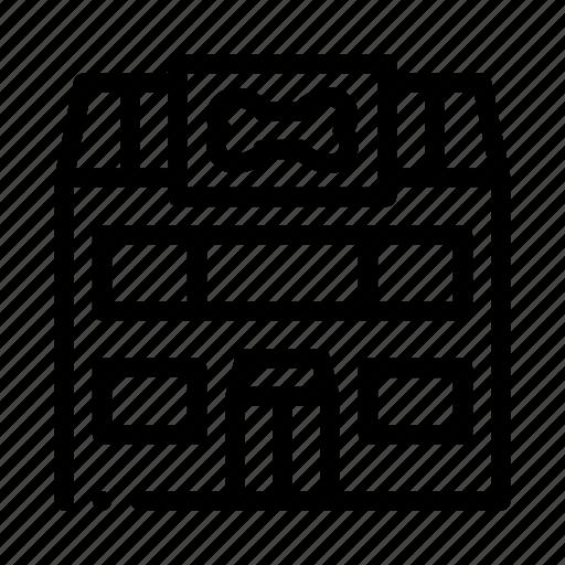 building, elements, pet, shop icon