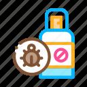 flea, pet, shop, spray icon