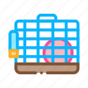 cage, hamster, pet, shop