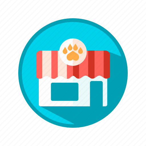 animal, market, pet, shop, store icon