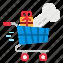 cart, grow, shopping, smart, supermarket