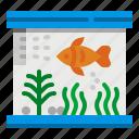 aquarium, bowl, fish, fishing, tank