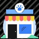 pet, shop, pet shop, pet store icon