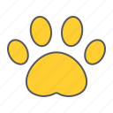 paw, dog, print, footprint, prints, pet, cat