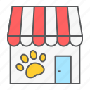 pet, shop, store, market, building, veterinary