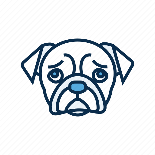 canine, dog, dog head, pet, pet shop icon