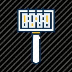 hairbrush, pet, pet brush, pet care, pet comb, pet shop icon