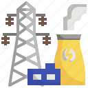 power, industry, plant, industrial, factory