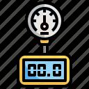 pressure, meter, measure, distance, gauge