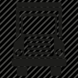 car, lorry, transport, truck, vehicle, waggon, wagon icon