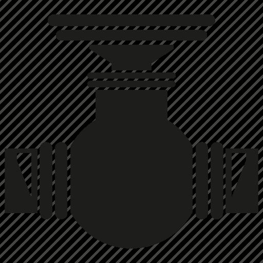 equipment, gauge, pipe, pipeline, valve icon