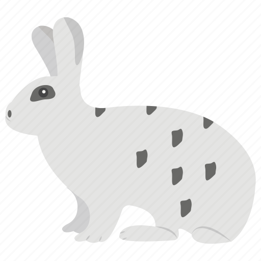 buck animal, bunny, hare, pet, rabbit, rodent icon