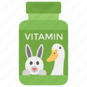 fiber, health food, mineral, nutriment, protein, supplement, vitamins icon
