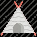 canvas, pavilion, pet teepee, tent, tubik, wigwam, yurt icon