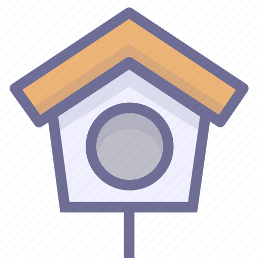 bird house, home, pet home, pet house icon