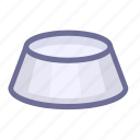 food, pet, pet bowl icon