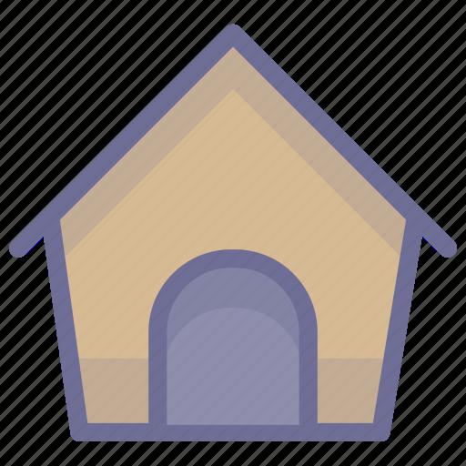 dog, dog home, dog house icon