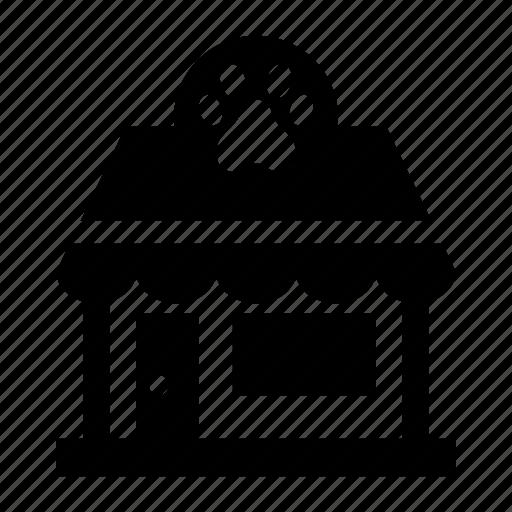 pet, shop, store icon