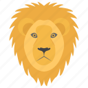 african animal, endangered specie, leopard, lion, wild animal icon