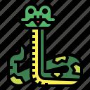 animal, pet, reptile, snake icon