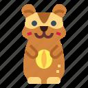 animal, hamster, pet, rodent
