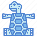 amphibian, animals, pet, turtle icon